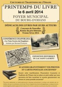Printemps du livre de Bourg d'Oisans