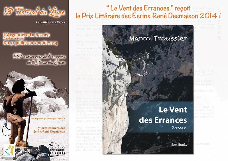Prix Littéraire des Ecrins René Desmaison