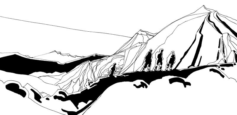 Dans les montagnes d'Arolla
